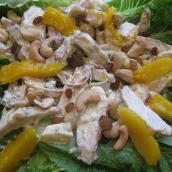 Coronation Chicken Recipe - Fresh and different, this creamy chicken and mango dish, served cold with a spicy curried mayonnaise dressing, always brings interest and recipe requests.