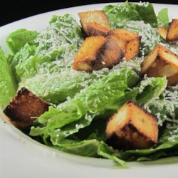 Classic Restaurant Caesar Salad Recipe - The Caesar salad you love so much at fancy restaurants is surprisingly easy and quick to make at home.