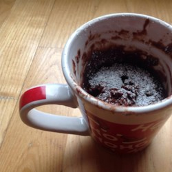 Easy Brownie In A Mug Recipe - Make this quick and easy brownie in a mug with just a few ingredients and a quick cook in the microwave.