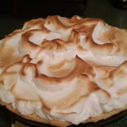 """Flapper Pie Recipe - Graham wafer cream pies such as this one became popular in Canada during World War I; later, this became known as """"Flapper Pie"""" throughout western Canada."""