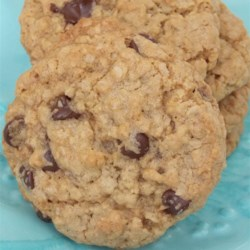 Brown Butter and Chocolate Oatmeal Cookies Recipe - Brown butter adds extra deliciousness to this recipe for chocolate chip-filled oatmeal cookies.