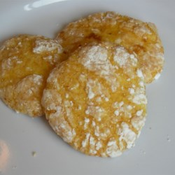 Cool Whip Cookies Recipe - Light and easy cookies made with lemon cake mix.