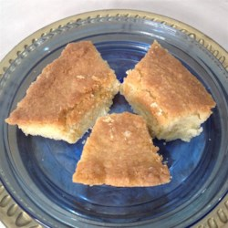 Aunty Laura's Shortbread Recipe - This is my aunt's shortbread recipe.  It sticks to your teeth and tastes GREAT with milk.