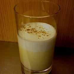 Easiest Egg Nog Recipe - Would the night be complete without egg nog? This beverage contains raw eggs. We recommend that pregnant women, elderly, young children and people with medical or immune problems do not consume dishes containing raw eggs.
