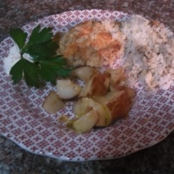 Mayo Parmesan Chicken with Rice Recipe - This recipe for Parmesan chicken with mayonnaise is quick, easy, and gluten-free!