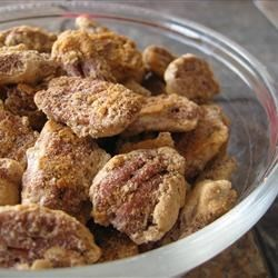 Candy Coated Pecans Recipe - These have become favorites of almost everyone who has tried them.