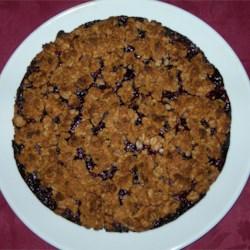Rasberry Oatmeal Cookie Bars