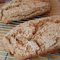No Knead Bran Bread Recipe - This is a wholesome recipe for bran bread uses honey instead of sugar.