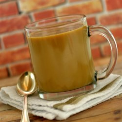 Coconut Maple Coffee Recipe - Coconut maple coffee made with unsweetened coconut milk and maple syrup is a sweet way to wake up in the morning.