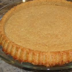 Pecan Nut Crust Recipe -  This fabulous baked pie crust made from ground pecans, sugar, cinnamon and butter, promising a nice taste to contrast any smooth and creamy custard pie. It 's perfect for an ice cream pie, topped with caramel sauce. Or a lemony, cream cheese filling would be smashing.