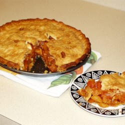 Dried Apricot Pie