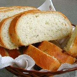 Rosemary French Bread Recipe - This is a wonderful recipe for bread machines.  This bread is crusty on the outside and so soft on the inside it's incredible!  One loaf doesn't last the whole day in my house!