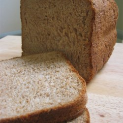 Whole Wheat Honey Bread Recipe and Video - This 100 percent whole wheat loaf from the bread machine is substantial and flavor-packed.