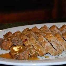 Tangy Grilled Pork Tenderloin