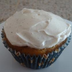 Pumpkin Pie Cupcakes Recipe - Pumpkin pie cupcakes are quick and easy to prepare when you use yellow cake mix and pumpkin pie filling for the batter; top with cream cheese frosting.