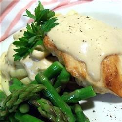 Balsamic Cream Sauce Recipe - The vinegar and cream go very well together.  Best when sauteed chicken and asparagus is added to the mix.
