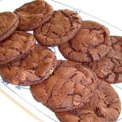 Chocolate/Peanut Butter Drop Cookies Recipe - Use this easy recipe to make delicious chocolate and peanut butter cookies!