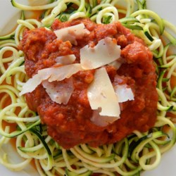Italian Meat Sauce I Recipe - A meaty tomato sauce with sausage, ground sirloin and Italian seasonings.