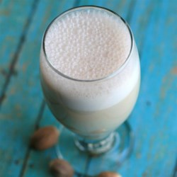 5-Minute Holiday Nog: Egg-Free, Dairy-Free, Sugar-Free Recipe - Eggnog is diary-free, egg-free, sugar-free, and guilt-free thanks to this recipe that calls for agave nectar, cashew milk, and nutmeg.