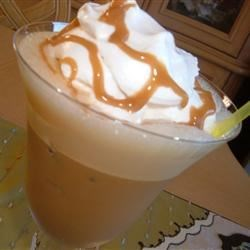 Cappuccino Cooler Recipe - The combination of coffee, chocolate ice cream, chocolate syrup and whipped cream makes this a perfect pick-me-up drink!