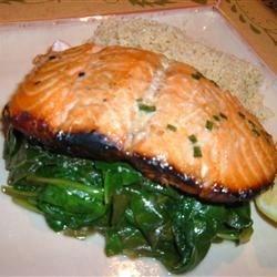 Honey-Ginger Grilled Salmon Photos - Allrecipes.com