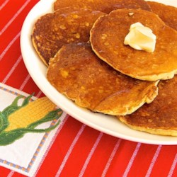 Corn Fritter Pancakes Recipe - Breakfast is delicious when it includes this quick and easy recipe for corn fritter pancakes.