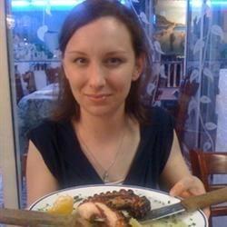 Greek food at Hela's