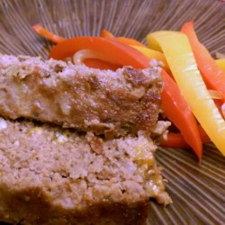 Stuffed Italian Meatloaf Recipe - This Italian-style meatloaf is stuffed with mozzarella cheese for a wonderfully hearty weeknight dinner.