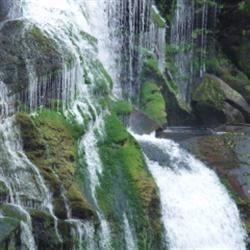Waterfall along the BlueRidge Parkway