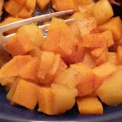 Sweet Potato and Cinnamon-Apple Bake Recipe - Sweet potatoes perfectly partner with apples and cinnamon in this flavorful dish.