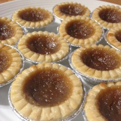 Sandra's Butter Tarts Recipe - Home-baked butter tarts are simple and quick to prepare, especially if you are using prepared pastry shells.