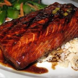 Firecracker Grilled Alaska Salmon Recipe - A hot and sassy marinade makes this grilled salmon even more delicious.