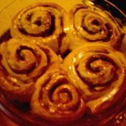 Cinnamon Rolls III after baking