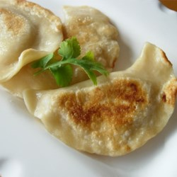 Shortcut Potato Onion Perogies Recipe - Classic perogies with potato and onion filling. Although you have to make the dough from scratch, the filling is extremely EASY!