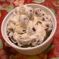 Aunt Nancy's Grape Salad Recipe - A light refreshing and creamy salad for hot summer days, super simple and only 3 ingredients! Always a hit.