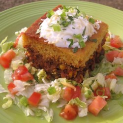 Hot Tamale Pie Recipe and Video - Chef John's ground beef and cornbread casserole gives you delicious tamale flavors in an easy weeknight dinner.