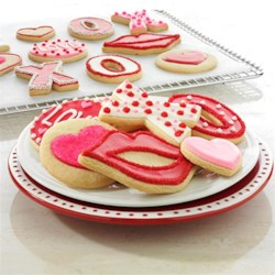 Valentine's Day Cookies from Reynolds(R) Kitchens Recipe - These pretty Valentine's Day cookies can be decorated in so many ways--icing, sugar crystals, piped messages. A sweet little treat for that special someone.