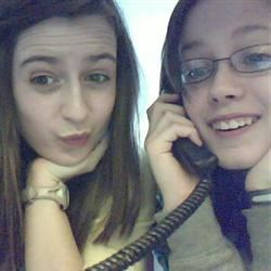 my and my friend, hayley (: