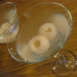 Lychee Martini Recipe - Are you tired of paying upwards of $15.00 for a drink at those trendy restaurants and bars? This drink is refreshing, Asian-inspired, and sure to impress your guests or that someone special!
