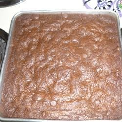 Peanut butter brownies with my modifications