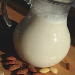 Homemade Almond Milk Recipe - Homemade almond milk is easy to make, only requires 4 simple ingredients, and is a delicious dairy-free beverage.