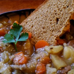 Tim's Lamb Stew Recipe - Lamb meat, potatoes, and carrots are the basic ingredients in this great stew.
