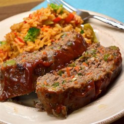 Momma's Healthy Meatloaf Recipe - Momma's healthy meatloaf, made with extra-lean ground beef and plenty of vegetables, is a quick and easy meal for busy weeknights.