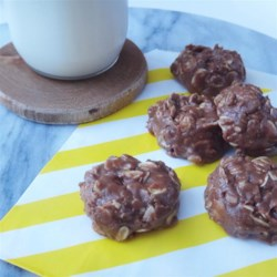 Cinnamon Nutella(R) No-Bake Cookies Recipe - These quick and easy no-bake cookies are made with cinnamon chips and Nutella(R) for a new twist on the traditional favorite.