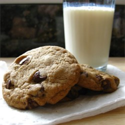 Cookie and (soy) milk