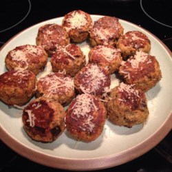 Aunt Mary's Eggplant Balls Recipe - These hearty, delicious eggplant morsels can be used as a replacement for meatballs, or they can be fried into patties and eaten like burgers.