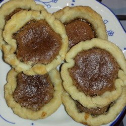 Canadian Butter Tarts Recipe -  This recipe makes twelve tarts filled with raisins and a wonderful brown sugar, toasted coconut, and walnut mixture that bakes up gooey, sweet and absolutely delicious. Top with a dollop of unsweetened whipped cream.
