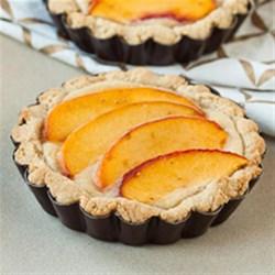 Gluten Free Almond Mini Tarts Recipe - This tart is a tasty, fruity, gluten-free treat and beautiful to display.