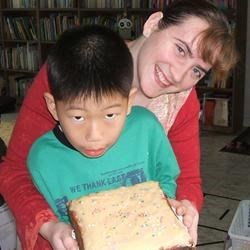 JoonHyuk's first cake