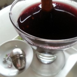 Mulled Wine (Vin Chaud) Recipe - Make this quick and easy mulled cider on a cold day to warm your bones and fill your home with a heavenly aroma.
